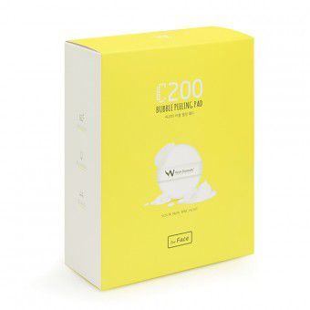 Wish Formula C200 Bubble Peeling Pad (for face) - Пилинг для лица