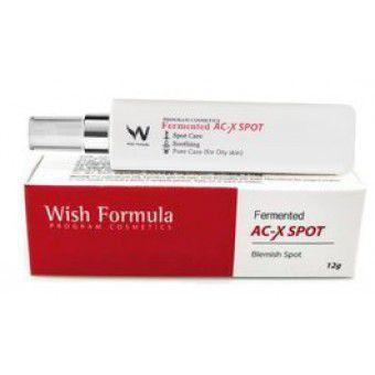 Wish Formula Fermented AC-X Spot - Высокоэффективный крем  против акне