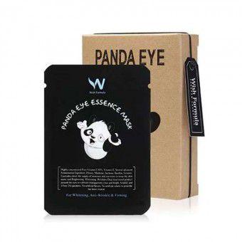 Wish Formula Panda Eye Essence Mask - Высокоэффективная маска для кожи вокруг глаз против темных кругов и морщин