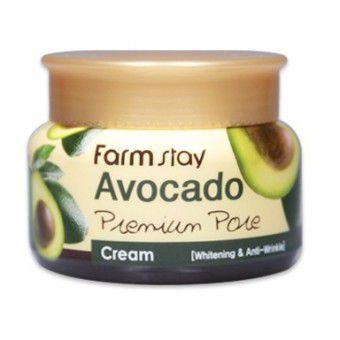 Farm Stay Avocado Premium Pore Cream - Отбеливающий лифтинг - крем на основе экстракта авокадо