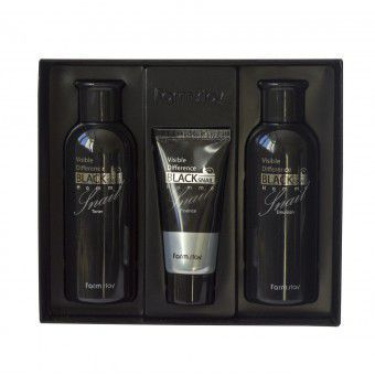 Farm Stay Visible Difference Black Snail Homme Set - Мужской набор с муцином улитки