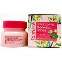Pink Flower Blooming Cream Water Lily - Крем для лица с экстрактом водяной лилии