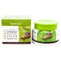 Visible Differerce Moisture Crem (Snail) - Увлажняющий крем с улиточным муцином
