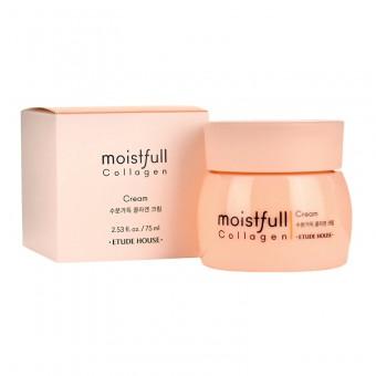 Etude House Moistfull Collagen Cream - Увлажняющий крем с коллагеном