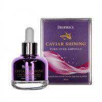 Caviar Shining Turn Over Ampoule - Сыворотка для лица с экстрактом икры