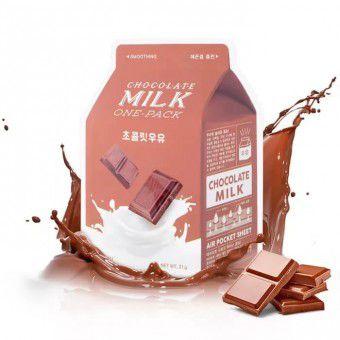 A'pieu Сhocolate Milk One Pack - Cмягчающая маска с экстрактом какао