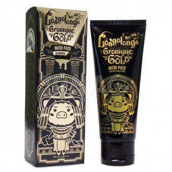 Elizavecca Hell-Pore Longolongo Gronique Gold Mask Pack - Маска-пленка с экстрактом золота