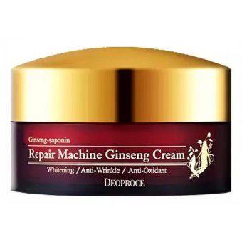 Deoproce Repair Machine Ginseng Cream - Антивозрастной крем с женьшенем