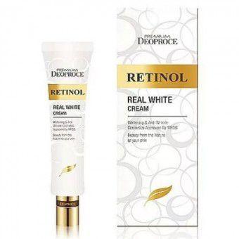 Deoproce Premium Retinol Real White Cream - Крем с ретинолом для век и носогубных складок