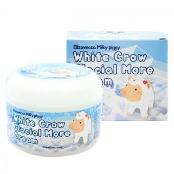 Elizavecca Milky Piggy White Crow Glacial More Cream - Крем для лица воздушный