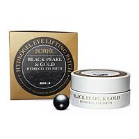 Black Pearl & Gold Hydrogel Eye Patch - Гидрогелевые патчи для век с экстрактом чёрного жемчуга и био-частицами золота