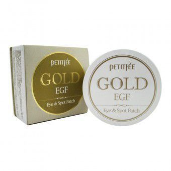 Petitfee Gold & EGF Eye & Spot Patch - Гидрогелевые патчи для век с золотыми частицами и фактором роста EGF