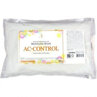 Anskin AC Control Modeling Mask / Refill - Альгинатная маска для проблемной кожи