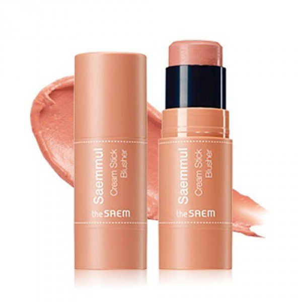 The Saem Saemmul Cream Stick Blusher CR01 Coral Ending - Румяна