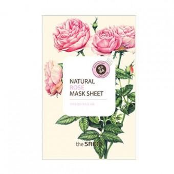 The Saem Natural Rose Mask Sheet - Маска тканевая