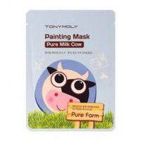 Pure Farm Painting Mask – Pure Milk Cow - Маска тканевая