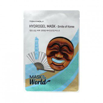 TonyMoly Hydrogel Mask Smile Of Korea - Маска тканевая
