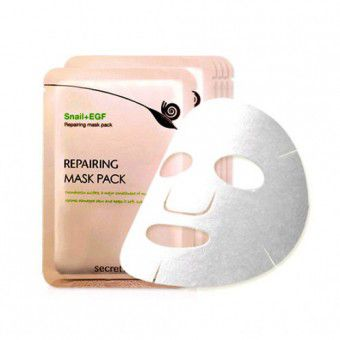 Secret Key Snail+EGF Repairing Mask Pack 1P (sheet) - Улиточная маска