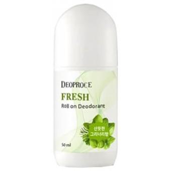Deoproce Fresh  Roll on Deodorant - Освежающий шариковый дезодорант