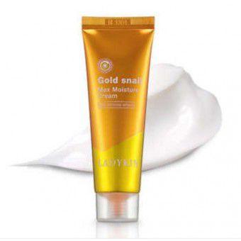 Ladykin Gold Snail Max Moisture Cream - Увлажняющий крем для лица с фильтратом слизи улитки