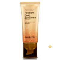 Timeless Ferment Snail Sun Cream SPF47PA+++ - Улиточный солнцезащитный крем для лица