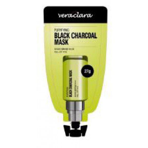 Puryfying black charcoal mask - Маска угольная очищающая