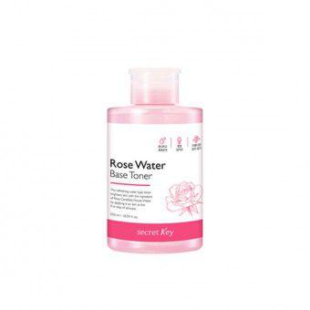 Secret Key Rose Water Base Toner - Восстанавливающий тонер с экстрактом розы