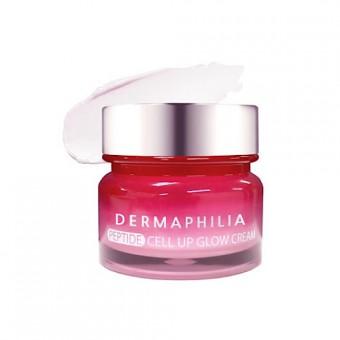 DermaPhilia Peptide Cell Up Glow Cream - Антивозрастной крем-гель с элитными пептидами