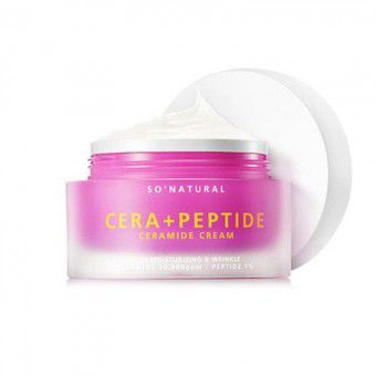 So Natural Cera+ Peptide Ceramide Cream - Крем для лица с керамидами и пептидами