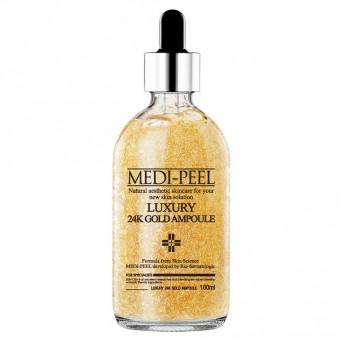 Medi-Peel Luxury 24K Gold Ampoule - Сыворотка с золотом для эластичности кожи