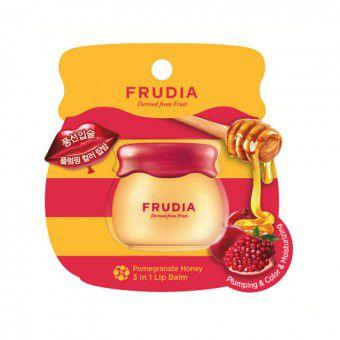 Frudia Pomegranate Honey 3in1 Lip Balm - Бальзам для губ с гранатом 3в1