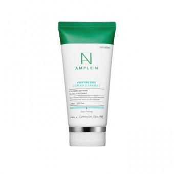 Ample:N Purifying Shot Cream Cleanser - Нежный очищающий крем-сливки