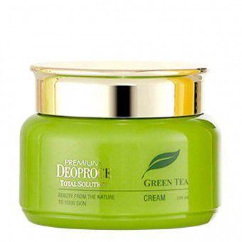 Deoproce Premium Green Tea Total Solution Cream - Крем c экстрактом зеленого чая