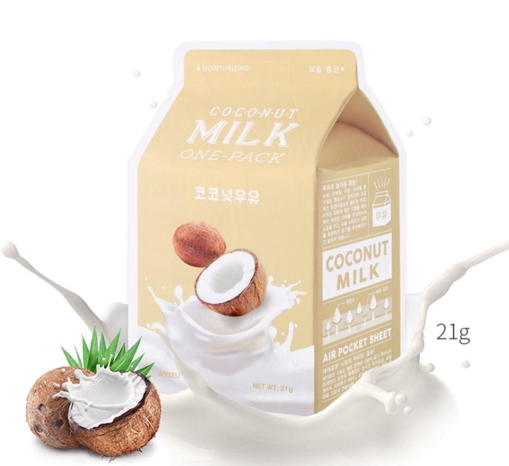 Купить Coconut Milk One-Pack - Кокосовая маска для лица, A'pieu