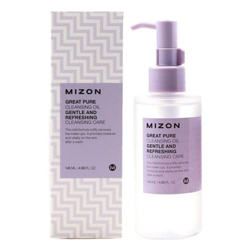 Great Pure Cleansing Oil - Очищаюее масло для снятия ББ крема и макияжа любой сложности