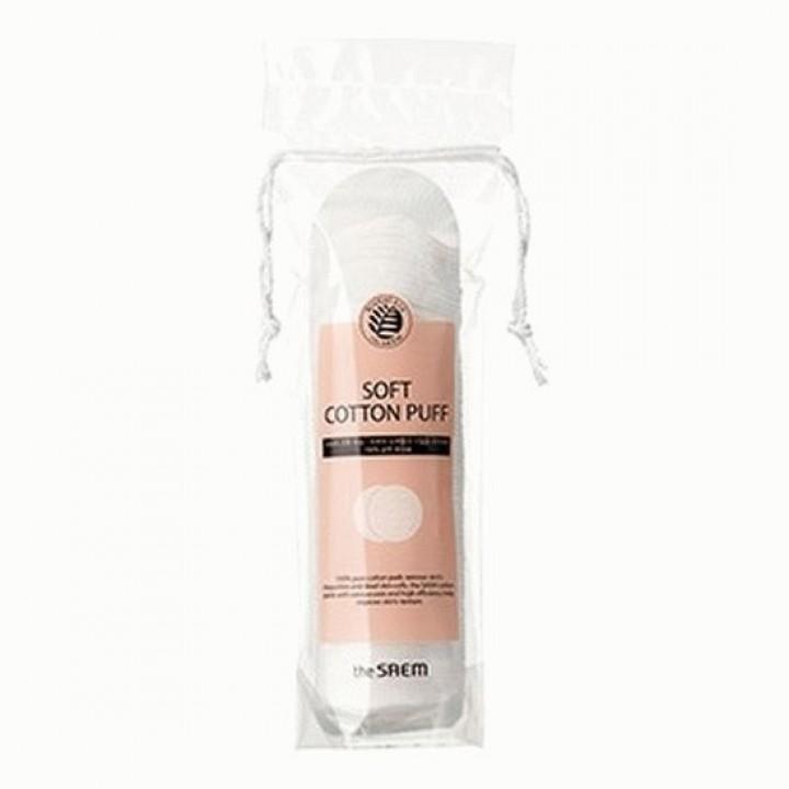 Soft Cotton Puff - Диски хлопковые