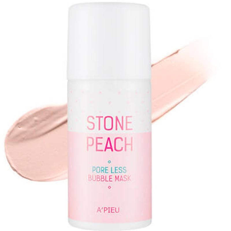 Stone Peach Pore Less Bubble Mask - Кислородная маска для очищения и сужения пор