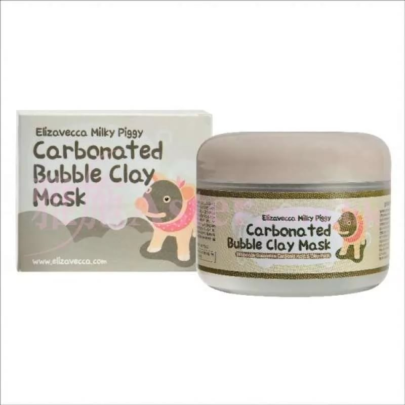 Milky Piggy Carbonated Bubble Clay Pack - Очищающая кислородная маска  на основе глины