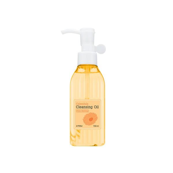 Купить Calendula Cleansing Oil Pore Melting - Очищающее гидрофильное масло с экстрактом календулы, A'pieu