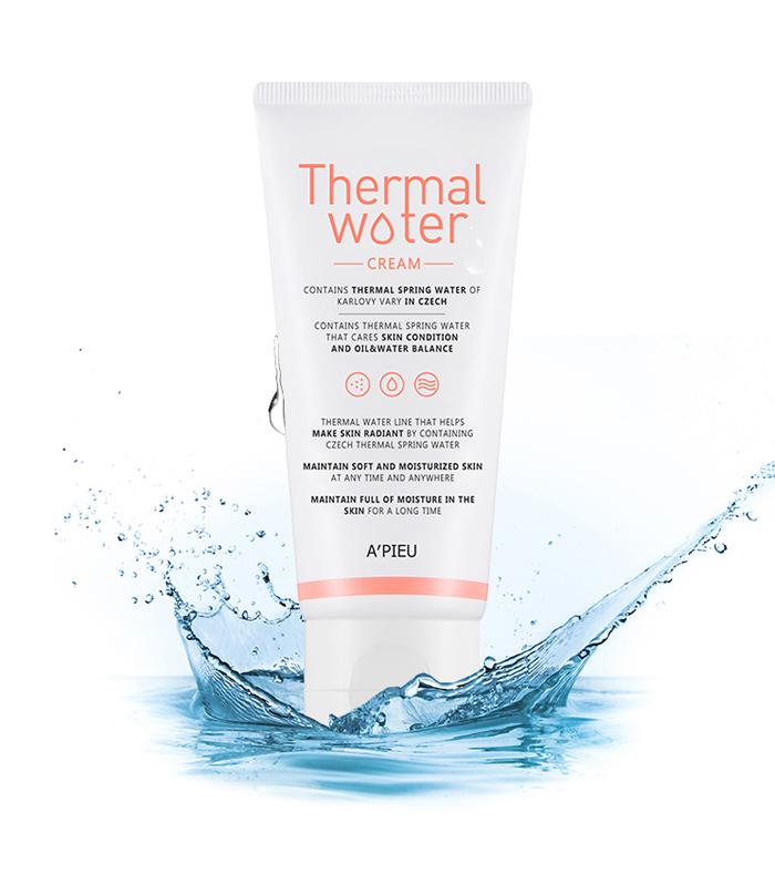 Thermal Water Cream - Увлажняющий крем для лица