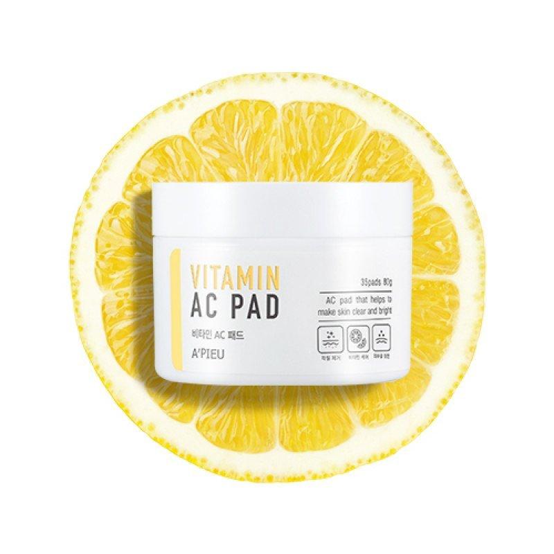 Vitamin AC Pad - Пилинг-диски для лица с АНА и ВНА-кислотами и 6 витаминами