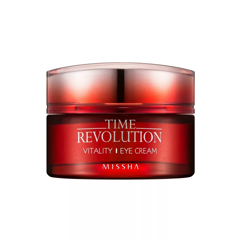 Купить Time Revolution Vitality Eye Cream - Интенсивный антивозрастной крем для кожи вокруг глаз, Missha