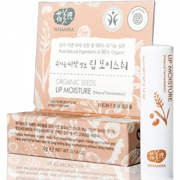 Organic Seeds Lip Moisture (Natural Fermentation) - Бальзам для губ на основе ферментов семян растений