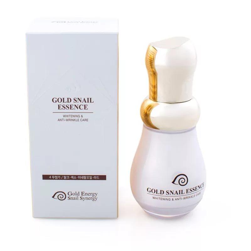 Gold Snail Essence - Эссенция для лица с золотом и слизью улитки