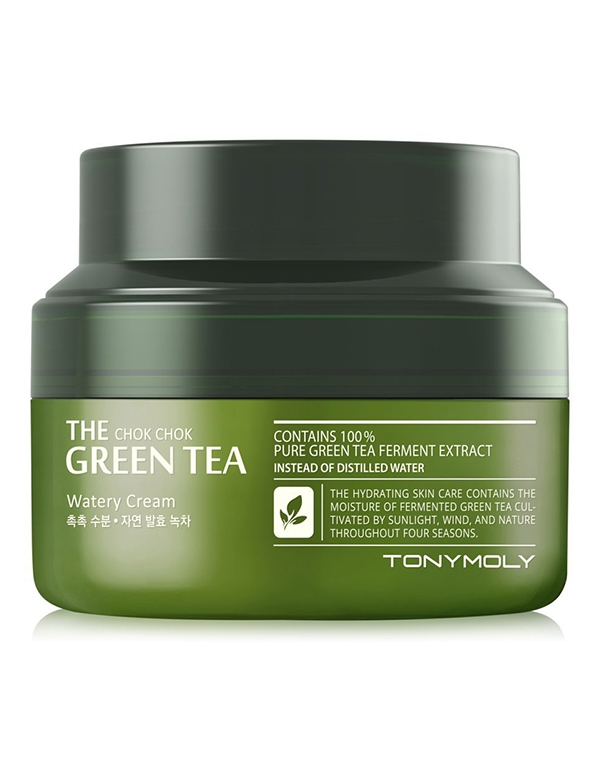 The Chok Chok Green Tea Watery Cream - Крем с экстрактом зеленого чая 100 мл