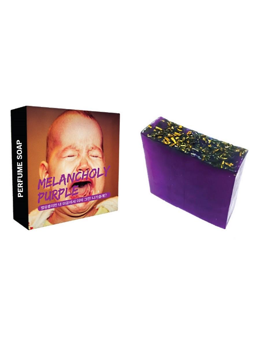 Soap Melancholy Purple - Парфюмированное мыло, Marchen  - Купить