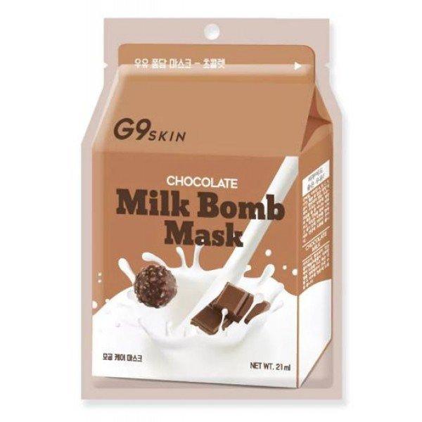 G9Skin Milk Bomb Mask-Chocolate - Шоколадная маска для лица