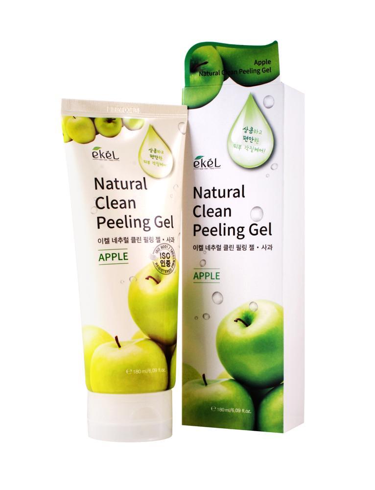 Купить Apple Natural Clean Peeling Gel - Пилинг-скатка с экстрактом яблока, Ekel