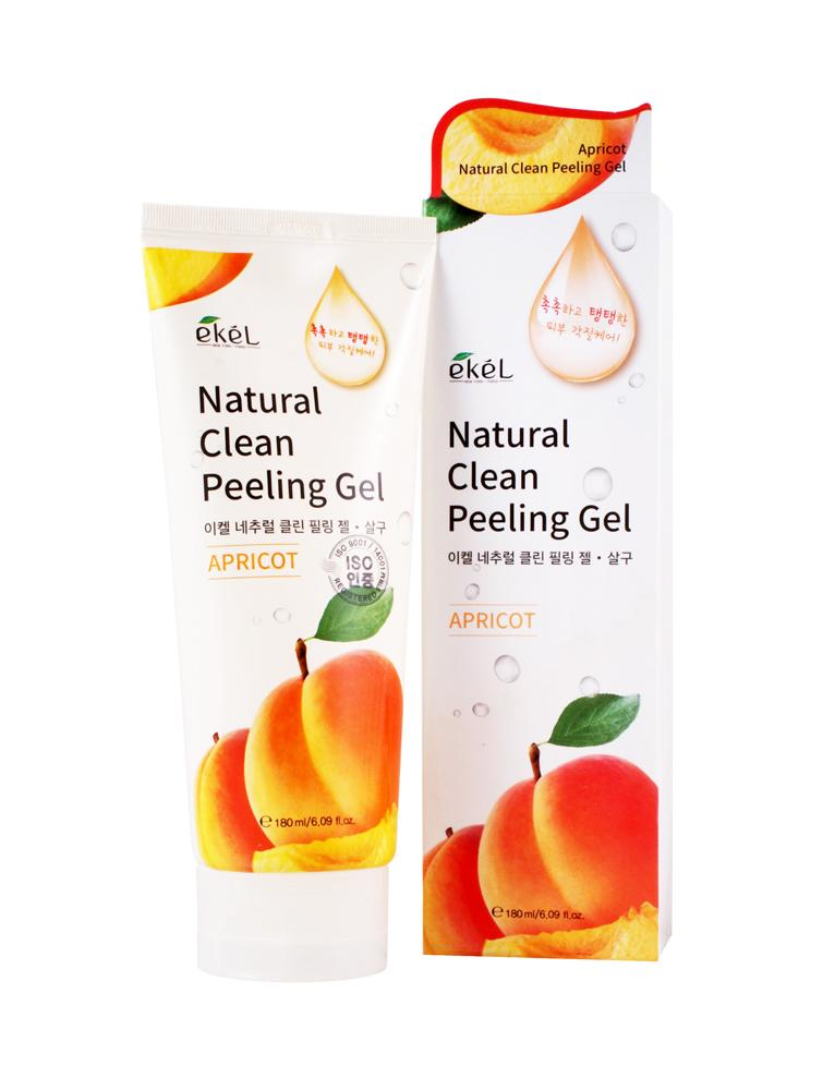 Купить Apricot Natural Clean Peeling Gel - Пилинг-скатка с экстрактом абрикоса, Ekel