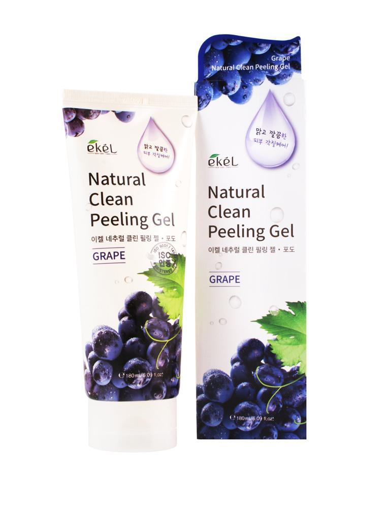 Купить Grape Natural Clean Peeling Gel - Пилинг-скатка с экстрактом винограда, Ekel